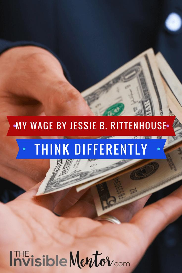 my wage, my wage jessie rittenhouse