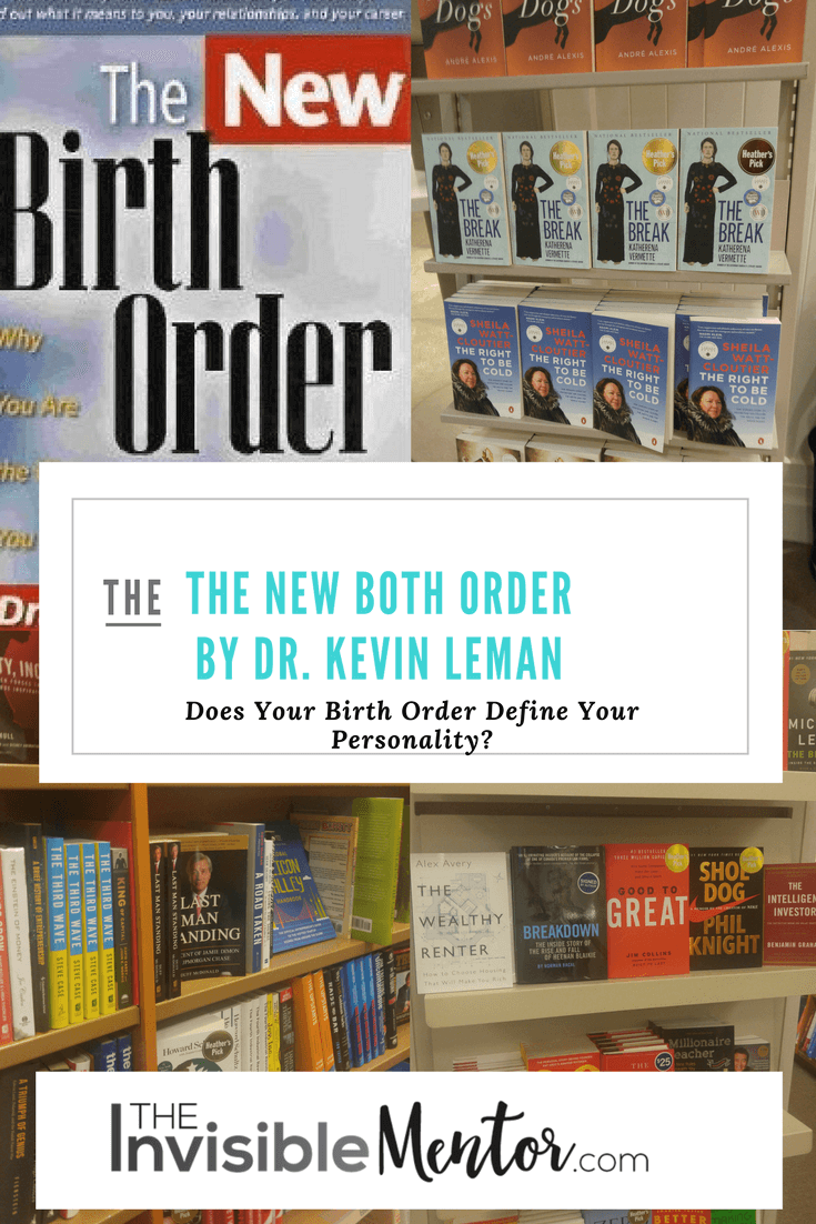 new birth order, new birth order kevin leman, the new birth order kevin leman