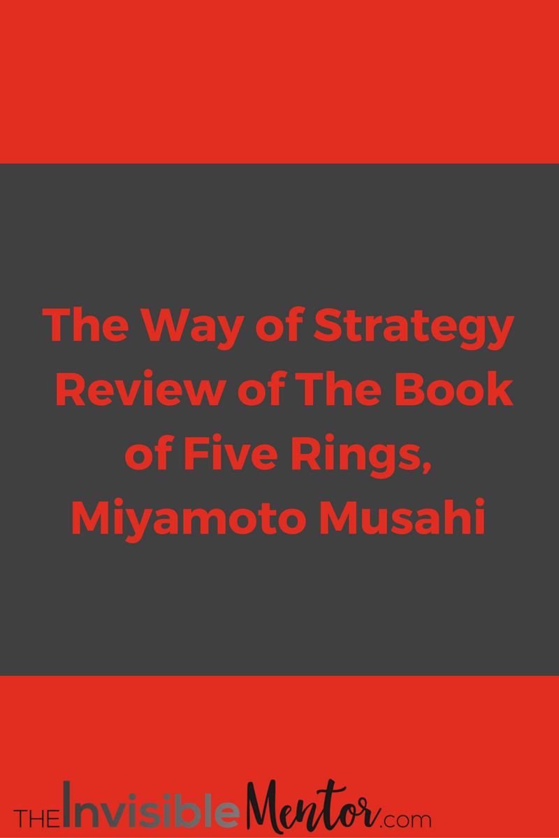 The way of strategy the book of five rings miyamoto musahi book five ringbook 5 ringsmusashi book five ringsbook five rings fandeluxe Gallery