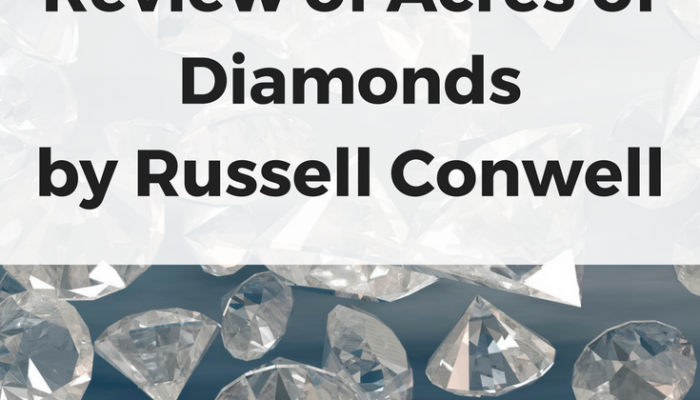 Acres of Diamonds by Russell Conwell (the grass is not greener on the other side)