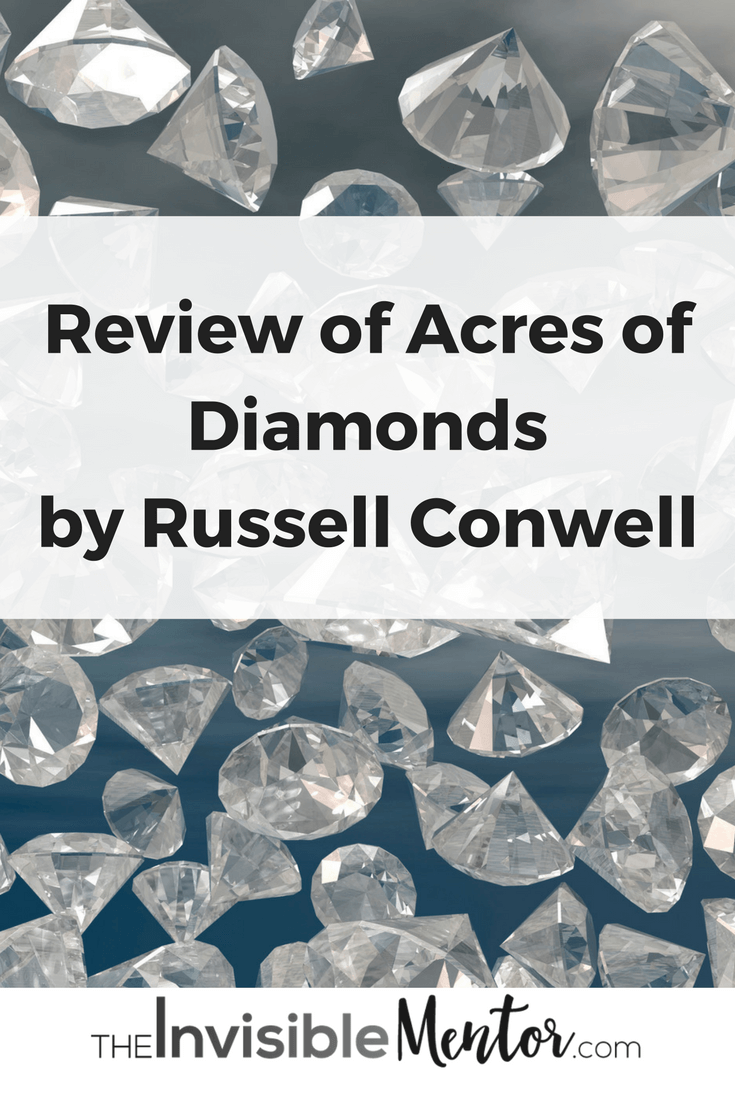 Acres of Diamonds, acres of diamond sussell conwell
