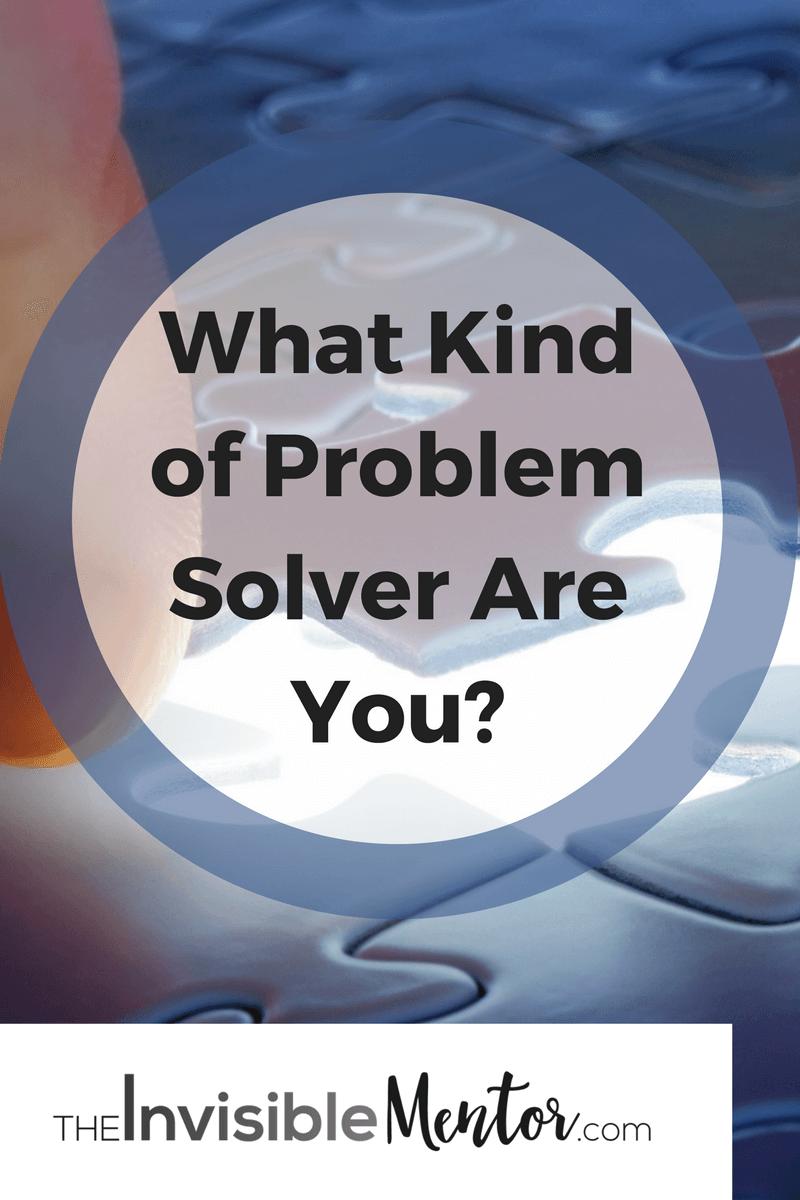 problem solver, problem solving, complex problem solving