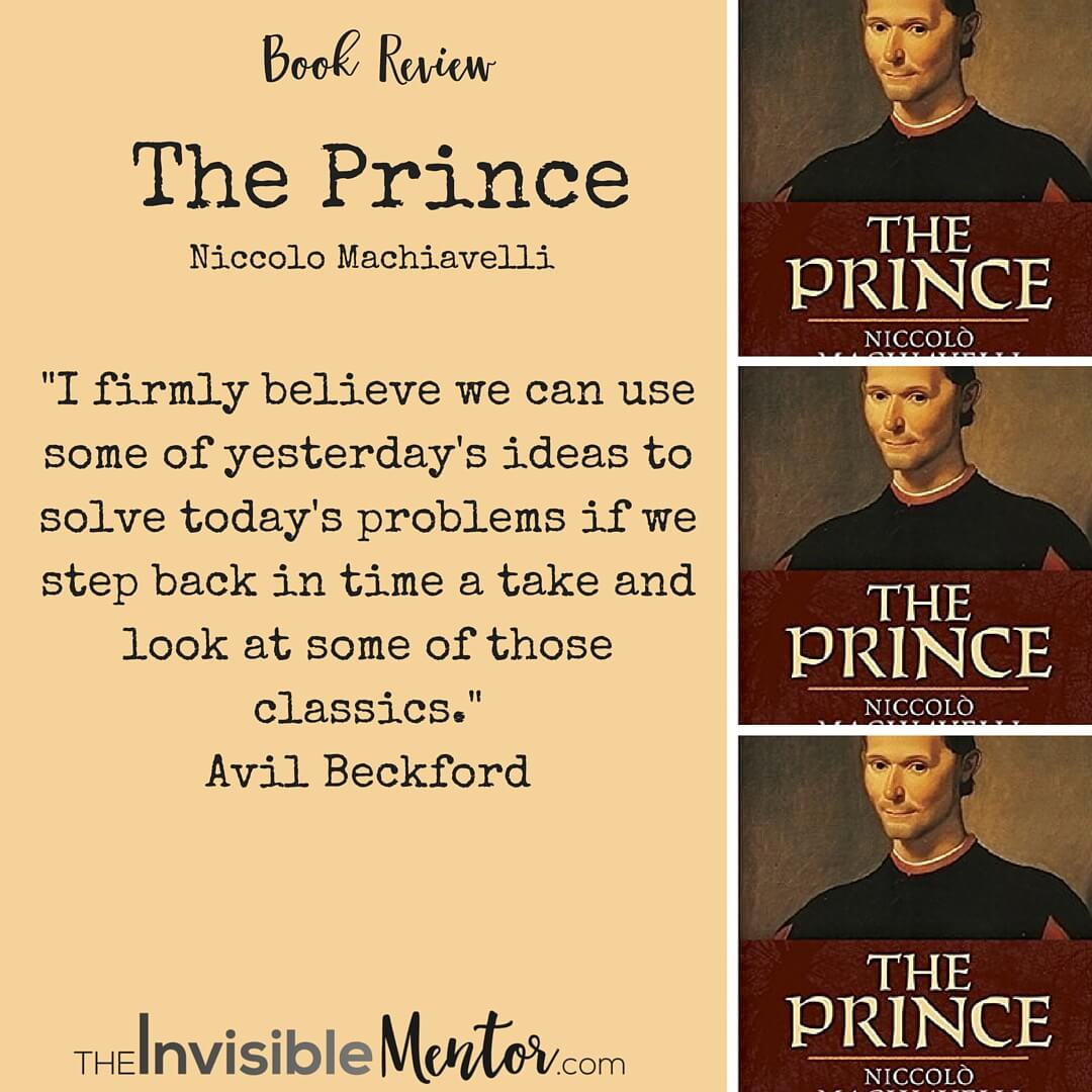 The Prince by Niccolo Machiavelli, Book Review