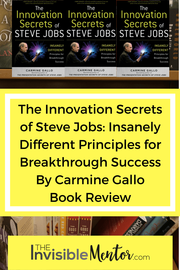 the breakthrough business career of steve jobs Public speaking and communication skills will pay dividends throughout your career billionaire warren buffett told business  in business history--steve jobs.