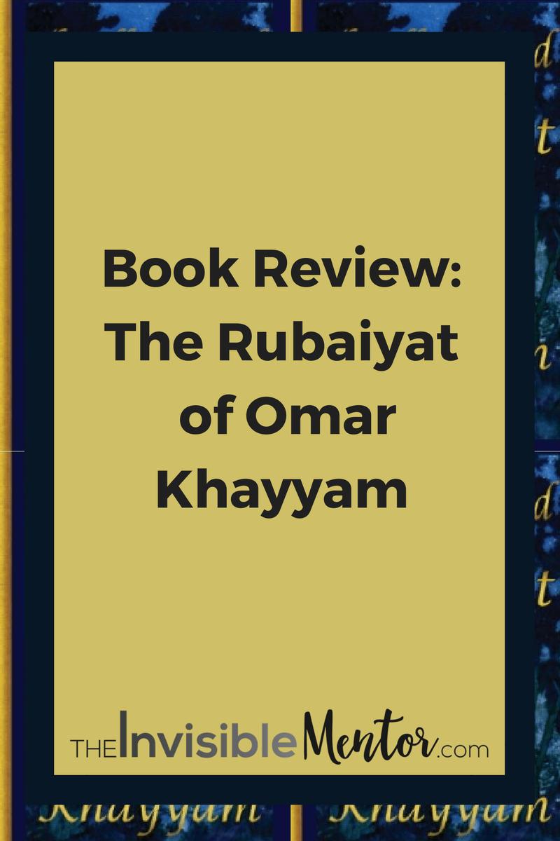 rubaiyat analysis