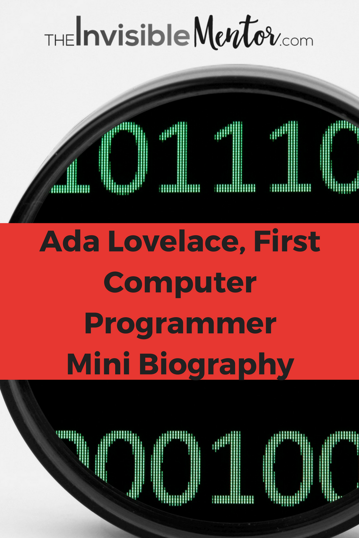ada lovelace, first computer programmer, computer pioneer, innovative thinker, ada lovelace biography, what did ada lovelace do,ada lovelace facts,