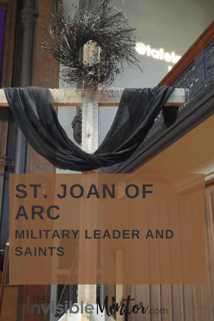 a biography of saint joan of arc a military commander She presented herself before the local commander,  to persuade him to undertake further military  joan of arc biography (miles hodges) joan or arc.
