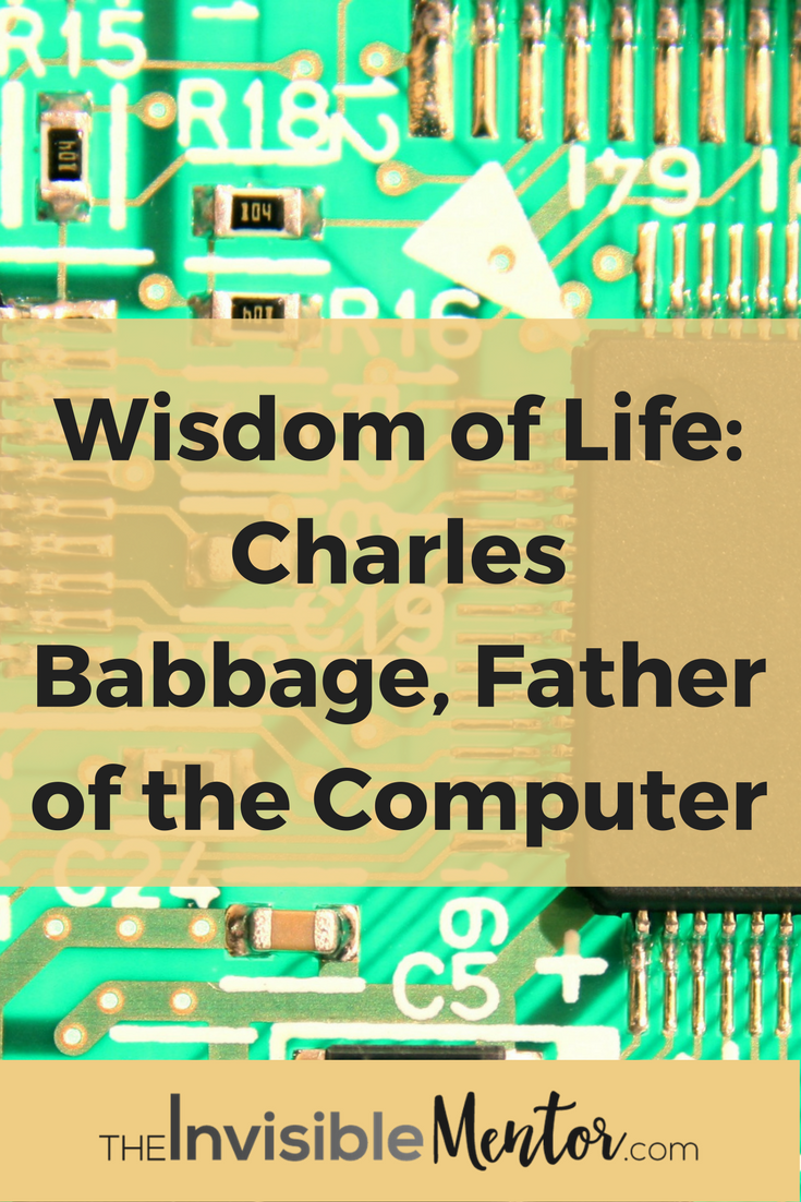 babbage charles biography