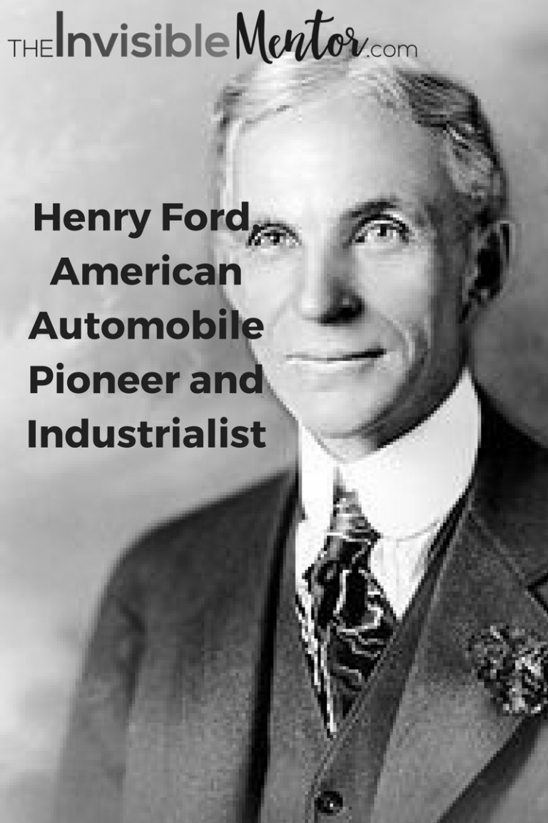 a biography of henry ford an american industrialist