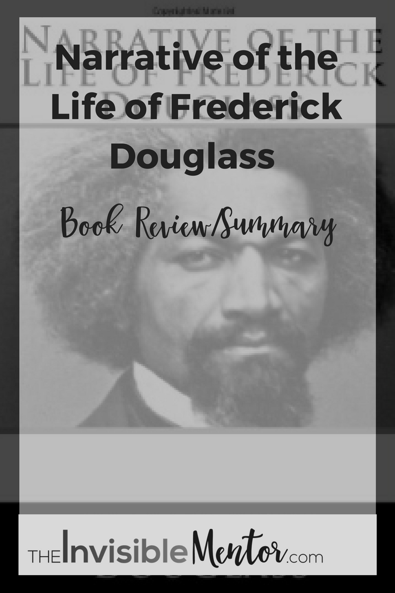 book review narrative of the life of frederick douglass