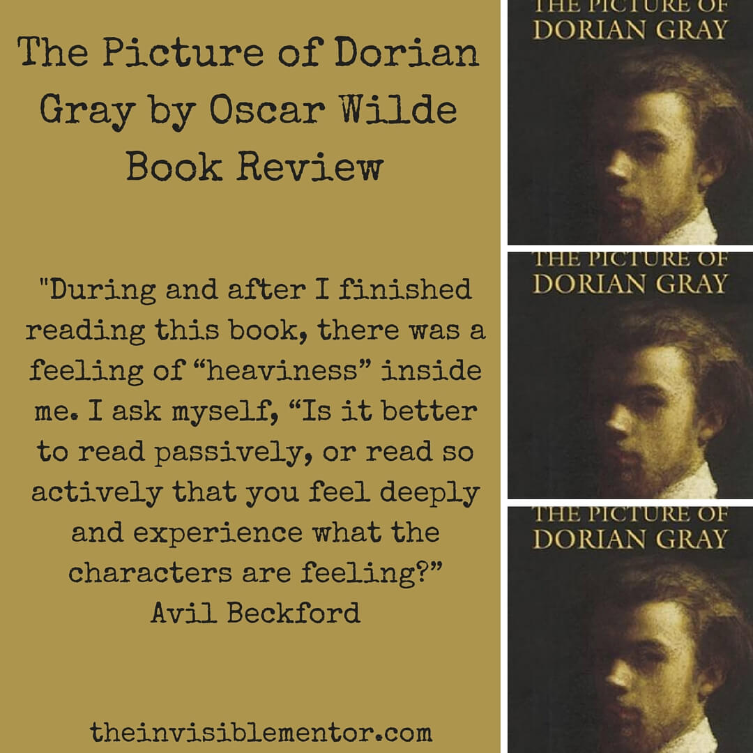 literary analysis of the novel the picture of dorian gray by oscar wilde The analysis of form in oscar wilde's the picture of dorian gray diana fransisca rompas and theresia cicik sophia budiman.