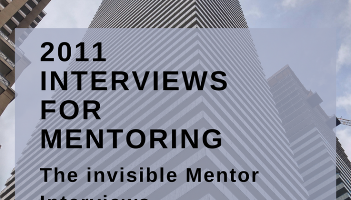 2011 Interviews for Mentoring