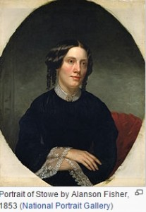 Harriet Beecher Stowe via Wikipedia