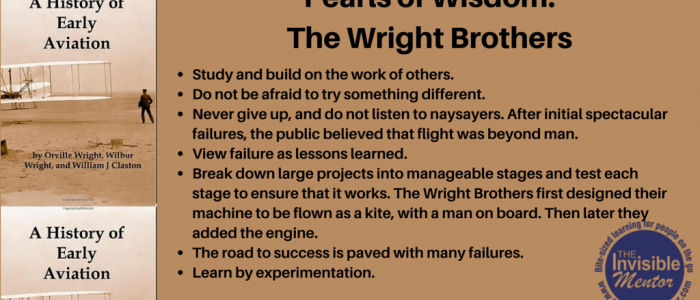 Booked for Mentoring: The Early History of the Airplane by Orville and Wilbur Wright