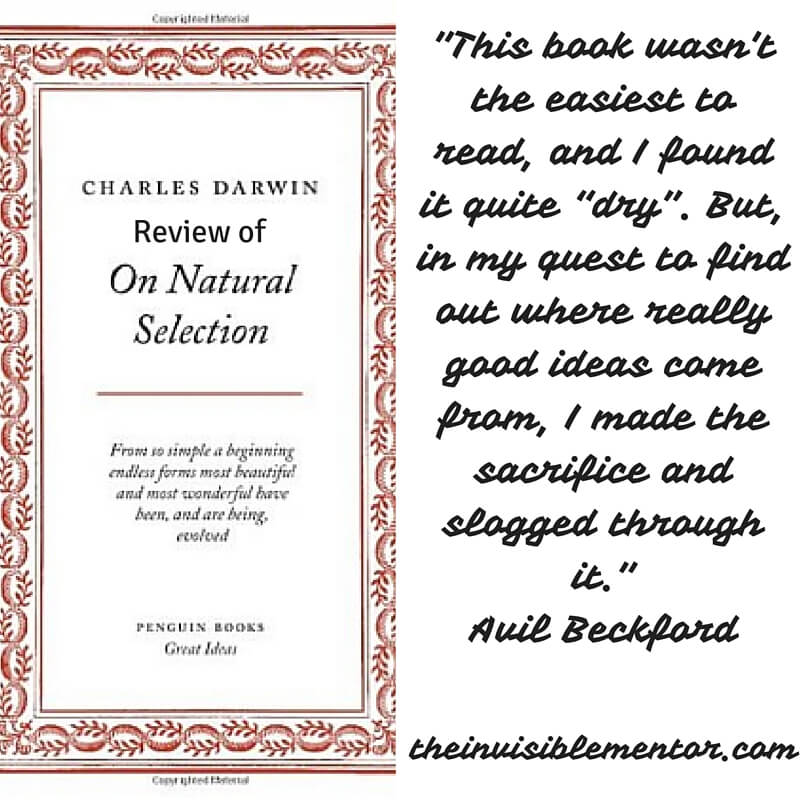 On Natural Selection by Charles Darwin: Review