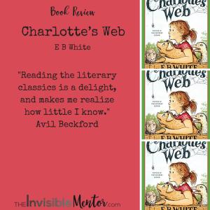Charlotte's Web by E B White, charlotte's web, charlottes web eb white