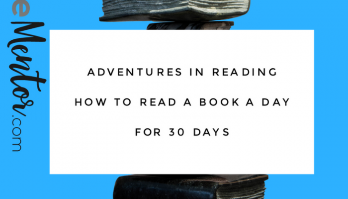 How to Read a Book a Day for 30 Days