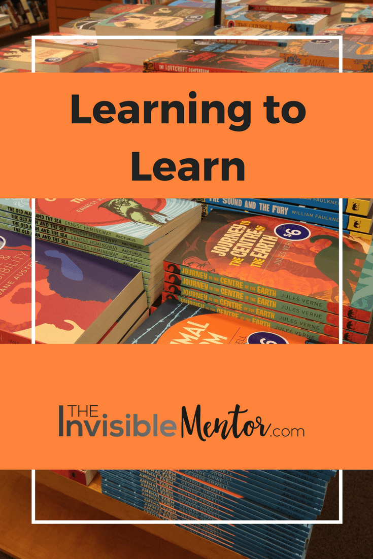 learning to learn, how we learn, learning how to learn