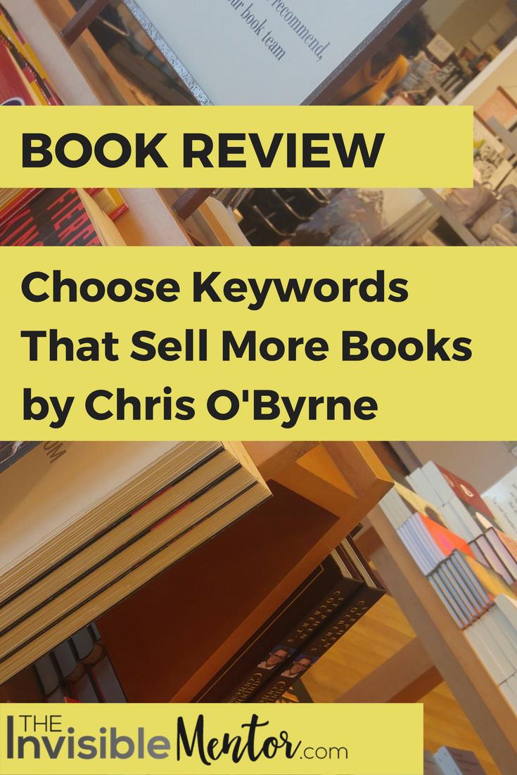 Example 2 - Choosing Keywords for a non-fiction book