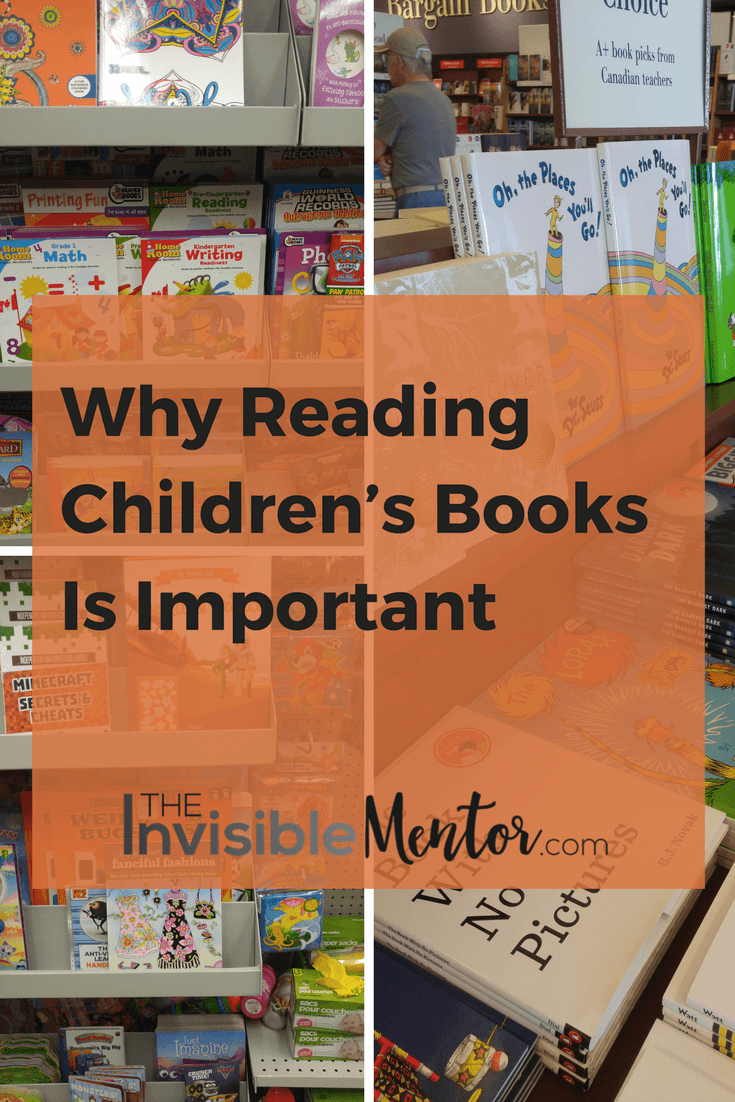 Why Reading Children's Books Is Important
