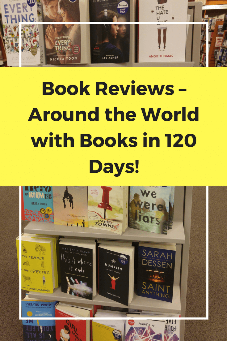 read the world, reading challenge, global reading challenge, global reading list, around the world in 120 days through books
