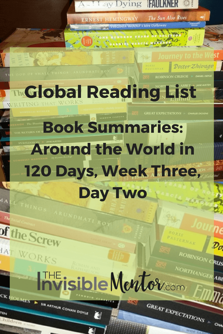 around the world in 120 days, global reading list
