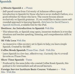 Spanish Classes Online Options