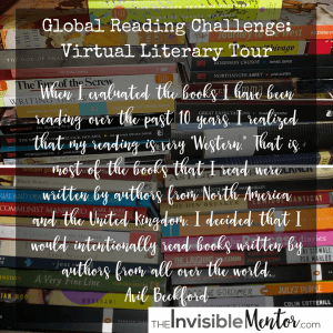 Global Reading Challenge - Virtual Literary Tour