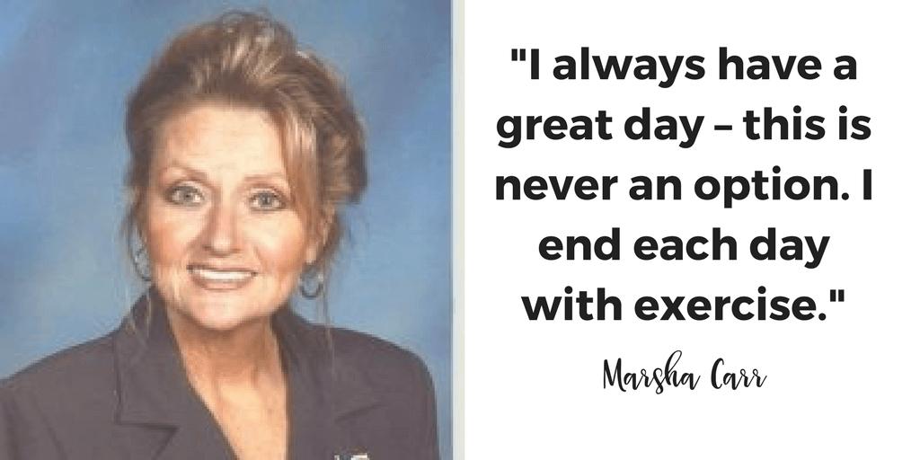 Marsha Carr, self mentoring