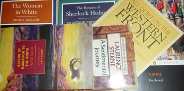 Books to Read February 2014 – Keep Going, Stay the Course #theclassics