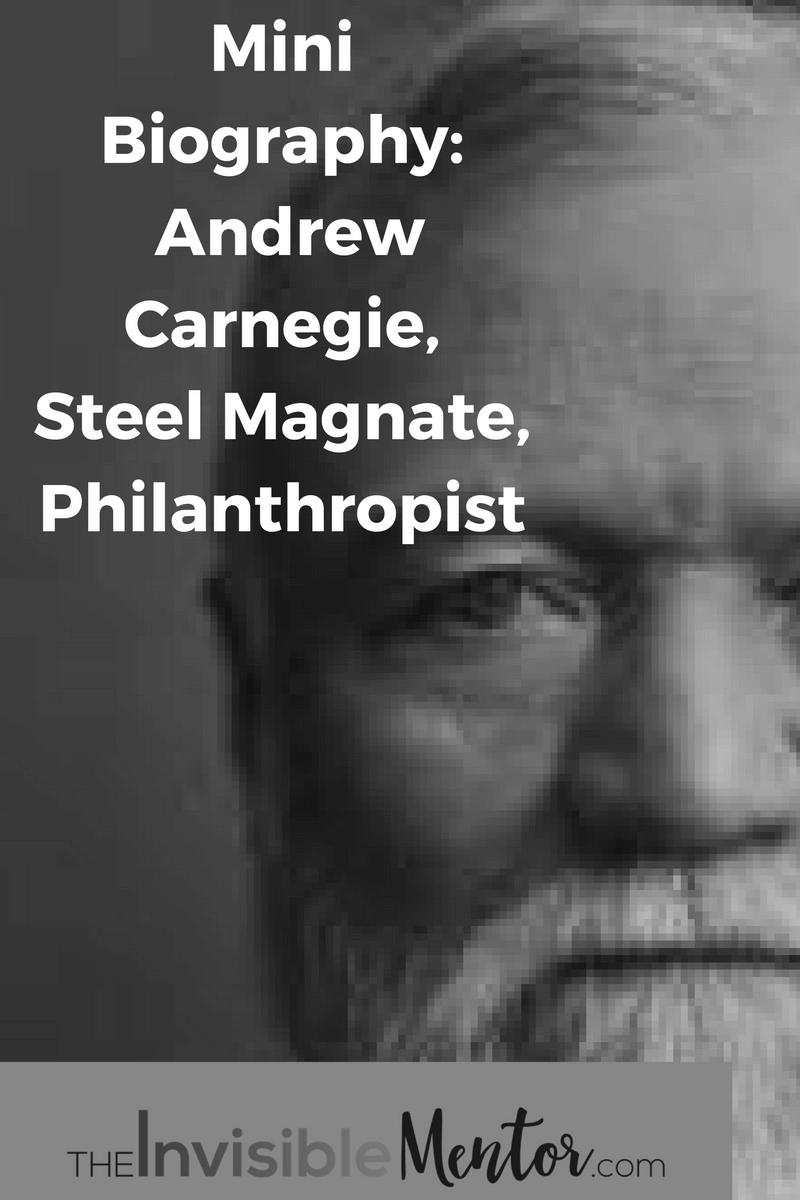 Andrew Carnegie,andrew carnegie become rich,andrew carnegie bio,andrew carnegie success formula