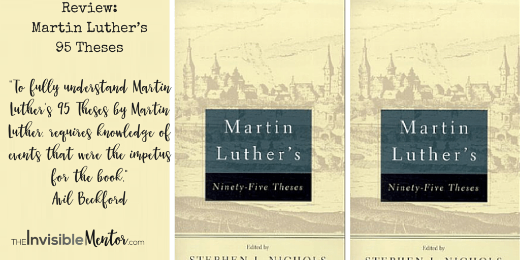 Martin Luthers 95 Theses Luther
