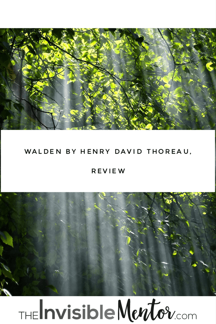walden, walden henry david thoreau