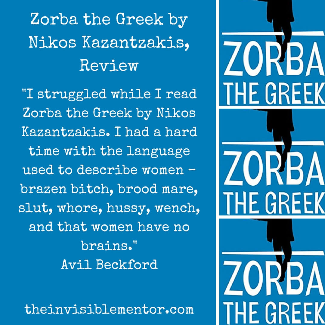 Zorba the Greek by Nikos Kazantzakis, Review #theclassics
