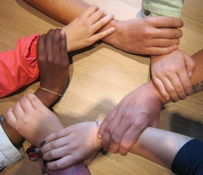 Circle Hands, board of invisible mentors, roundtable of invisible counselors, board of advisors
