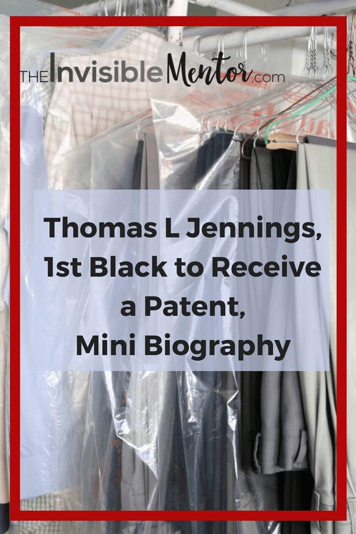 Thomas L Jennings, first black to file patent