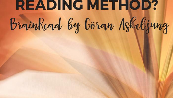 Best Speed Reading Method? BrainRead by Göran Askeljung