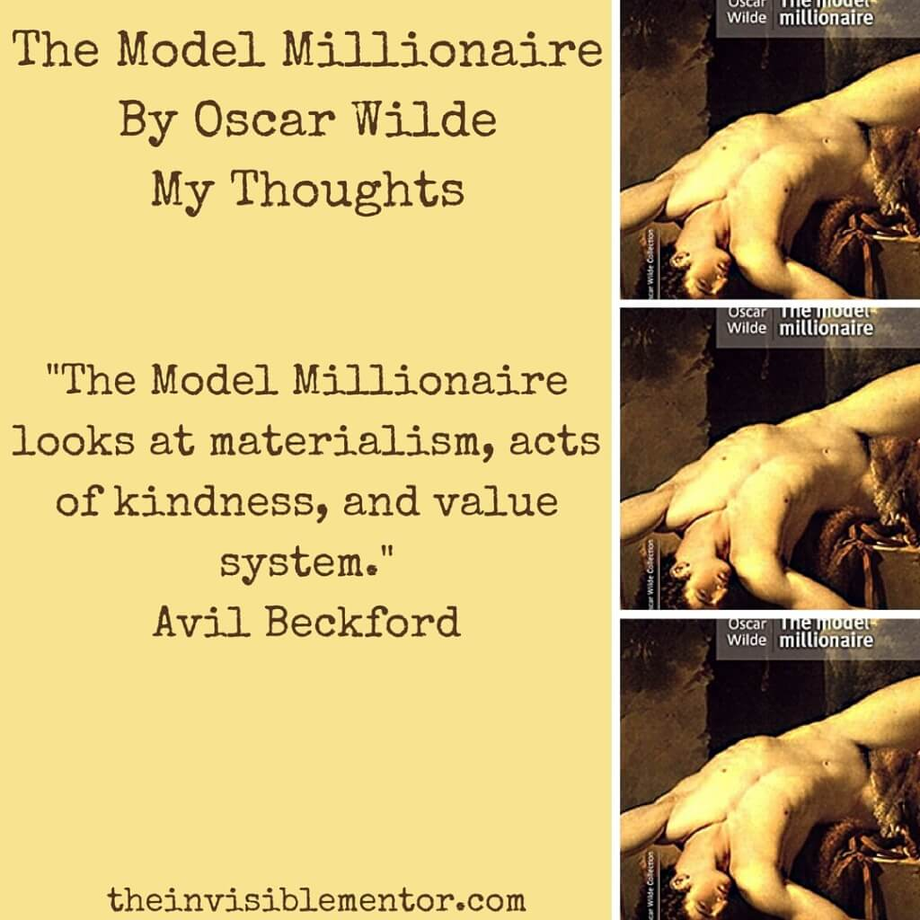 the model millionaire by oscar wilde, a short story review