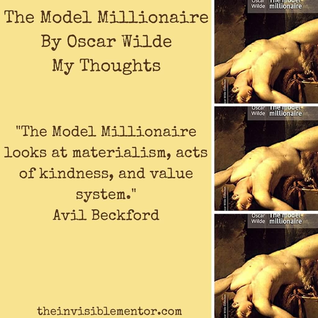 the model millionaire essay help