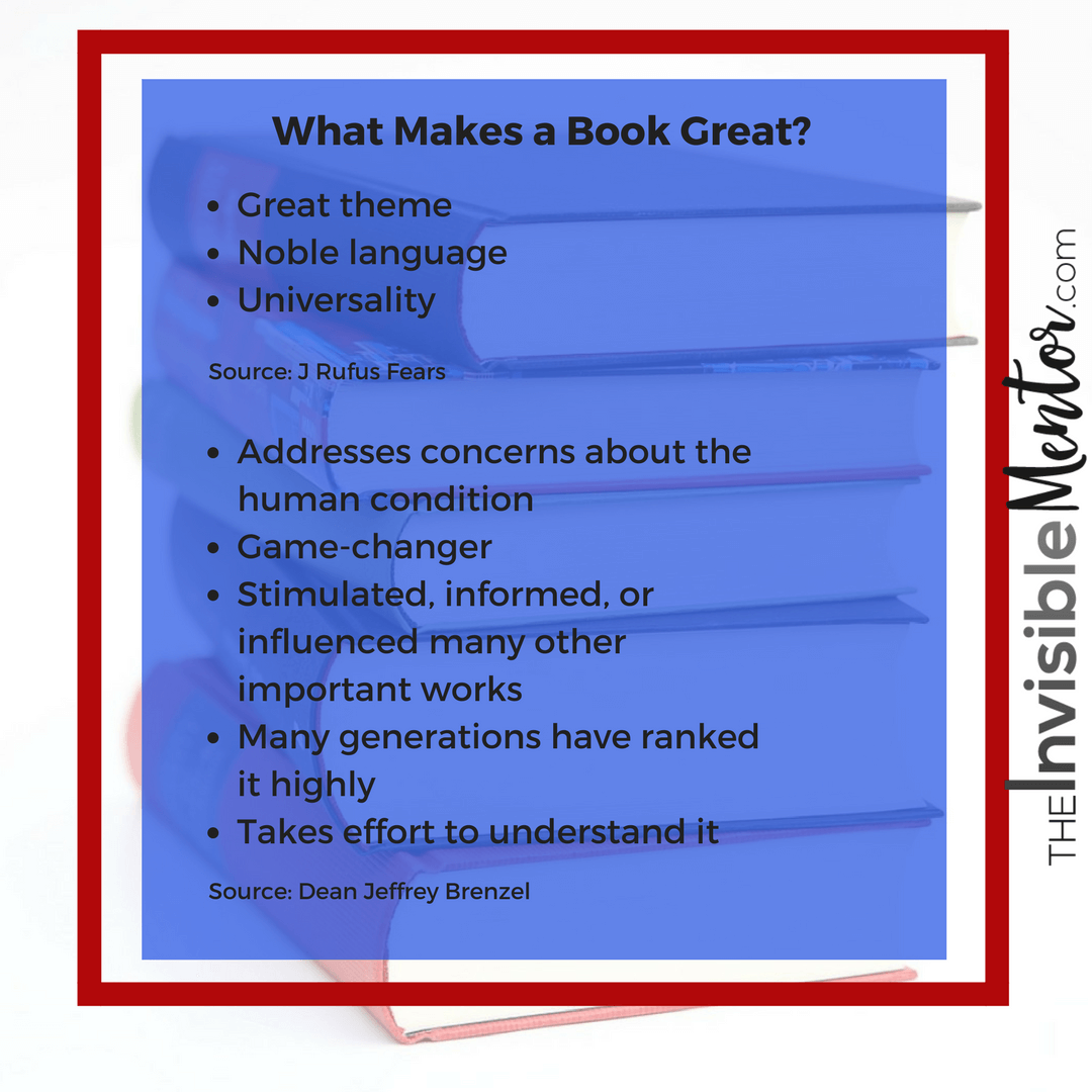 great books, what makes a book great