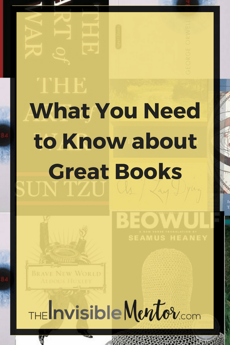 great books, what you need to know about great books, what makes a book great, definition of great book