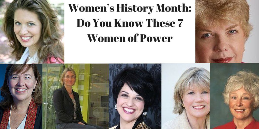 Women's History Month: Do You Know These 7 Women of Power