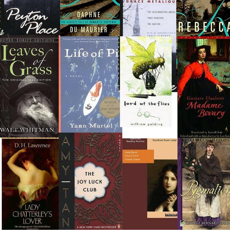 list show books