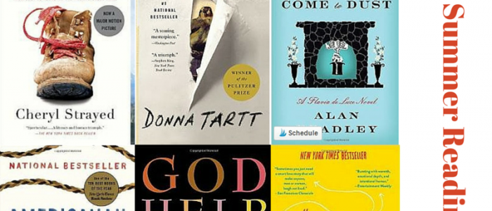 2015 Summer Reading Lists from around the Web