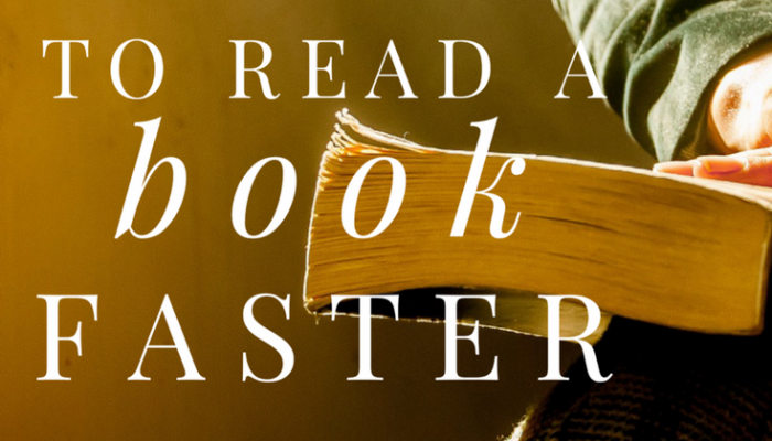 How to Read a Book Faster