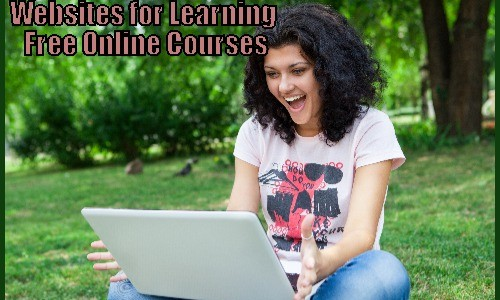 Websites for Learning – Free Online Courses