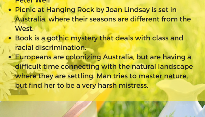 Picnic at Hanging Rock by Joan Lindsay, Book Review