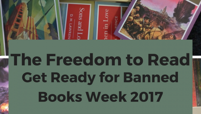 Get Ready for Banned Books Week 2017