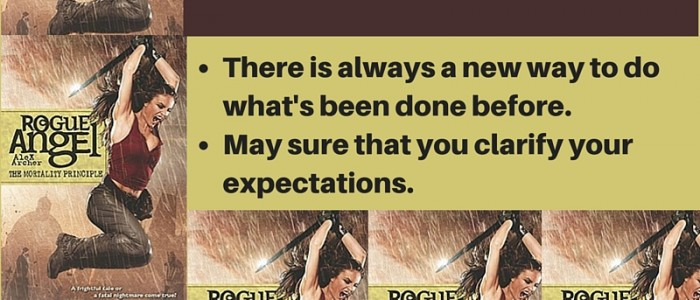 Life Imitates Art – Lessons from Rogue Angel: The Mortality Principle by Alex Archer