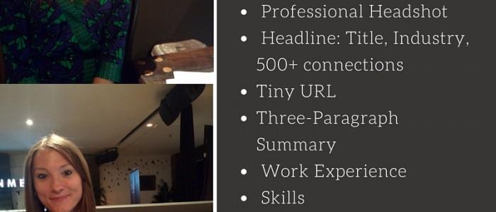 Optimizing Your Professional LinkedIn Profile